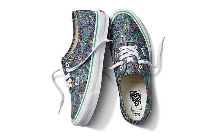 Vans Fergus Purcell Authentic LX Acid Wash Grey VN0A4BV90621 05