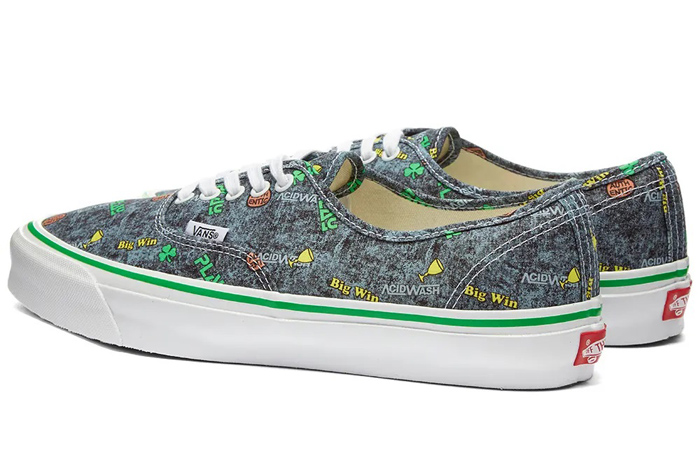 Vans Fergus Purcell Authentic LX Acid Wash Grey VN0A4BV90621 06