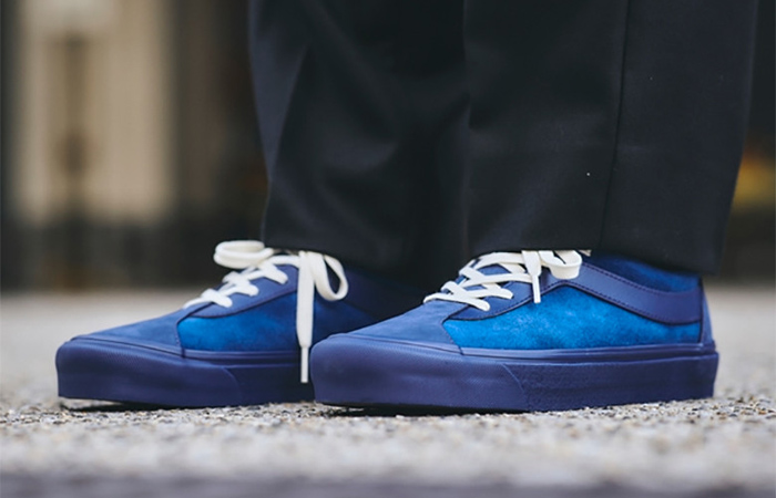 Vans Vault Bold Ni LX Royal Navy Receives A Suede Upper ft