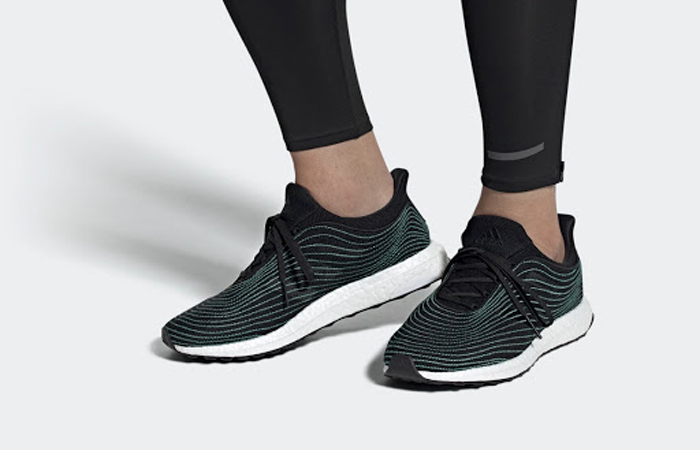adidas Performance UltraBOOST DNA Parley Black EH1184 on foot 01