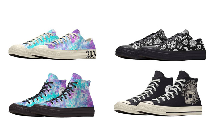 Converse Chuck 70 LA City Low Top Pack Is Out With Some Custom Printing! ft