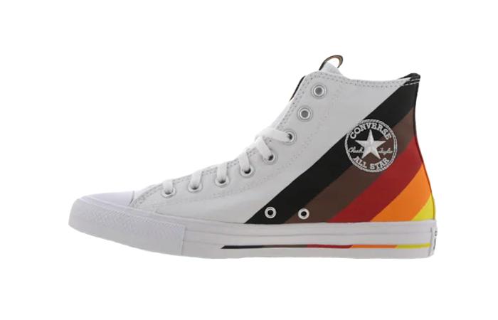 Converse Chuck Taylor All Star High White Multi 167758C 01