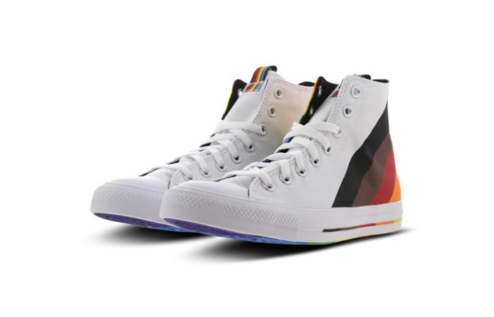Converse Chuck Taylor All Star High White Multi 167758C 02