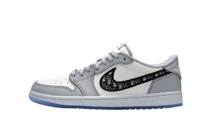 Dior Jordan 1 Low Grey CN8608-002 01