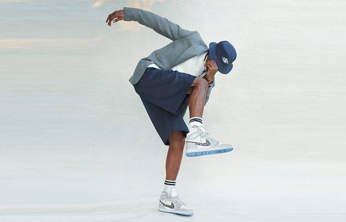 Dior Jordan 1 Low Grey CN8608-002 on foot 03