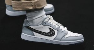 Dior Nike Air Jordan 1 Set To Release Soon In Both High And Low 01