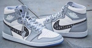 Dior Nike Air Jordan 1 Set To Release Soon In Both High And Low 04