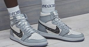 Dior Nike Air Jordan 1 Set To Release Soon In Both High And Low