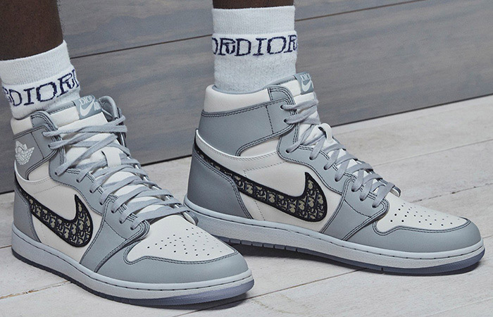 Dior Nike Air Jordan 1 Set To Release Soon In Both High And Low ft