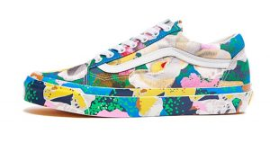 Here Is All The Raffle Info To Cop Kenzo Vans OG Old Skool LX Floral Pack 01