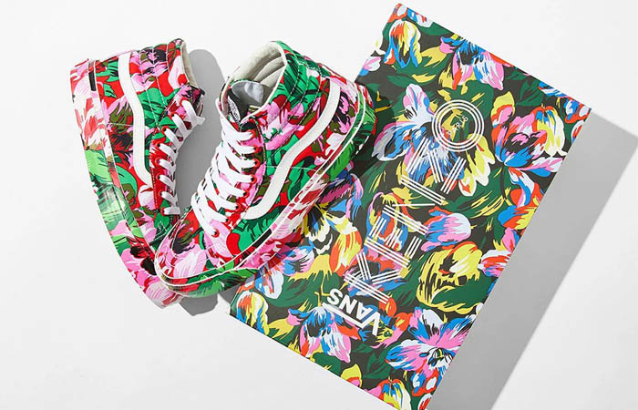 Here Is All The Raffle Info To Cop Kenzo Vans OG Old Skool LX Floral Pack ft