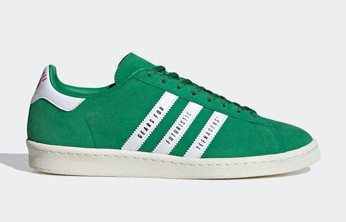 Human Made adidas Campus Green FY0732 03