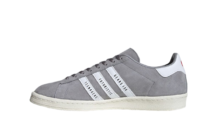 Human Made adidas Campus Grey White FY0733 01