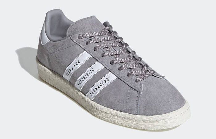 Human Made adidas Campus Grey White FY0733 02