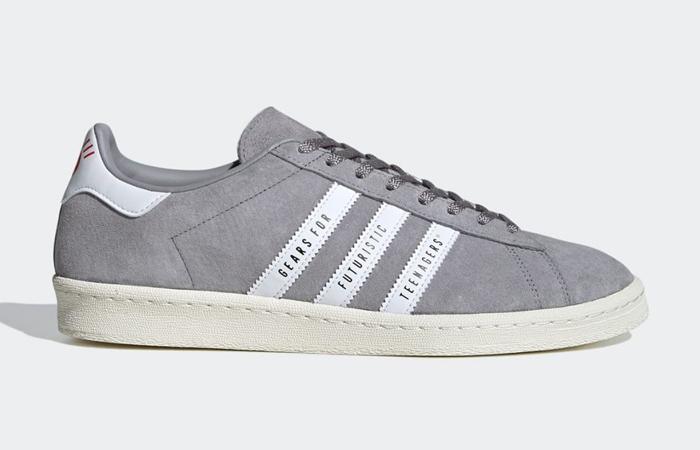 Human Made adidas Campus Grey White FY0733 03