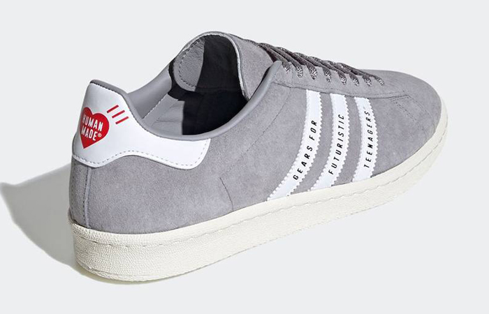 Human Made adidas Campus Grey White FY0733 04