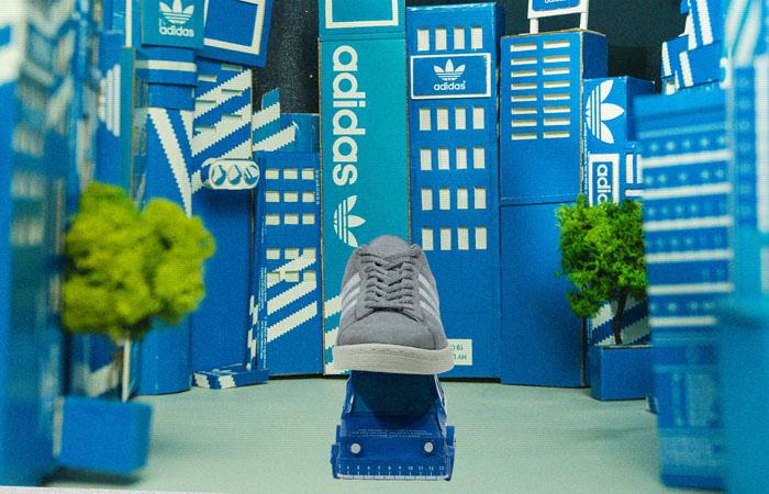 Human Made adidas Campus Grey White FY0733 07