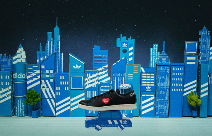 Human Made adidas Stan Smith Triple Black FY0736 06