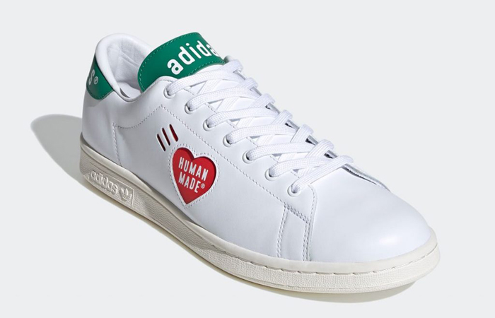 Human Made adidas Stan Smith White Green FY0734 02