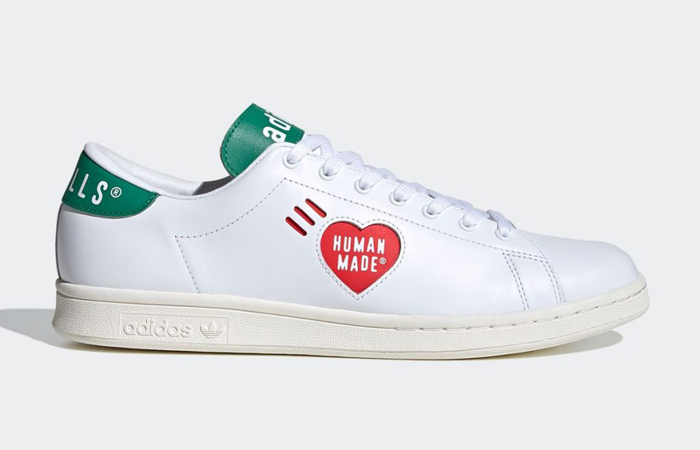Human Made adidas Stan Smith White Green FY0734 03