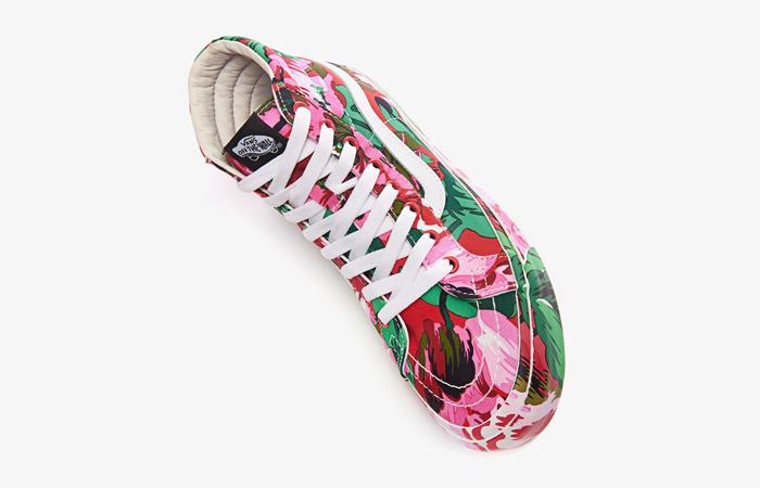 Kenzo Vans Vault OG SK-8 Hi LX Floral Red VN0A4BVB02G 03