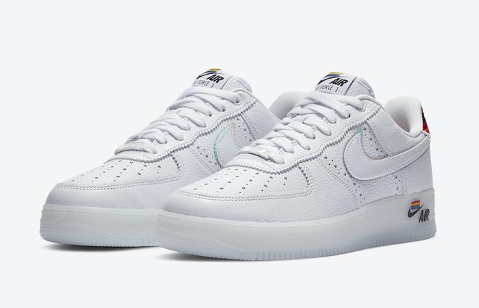 Nike Air Force 1 BeTrue 2020 White Multi CV0258-100 04