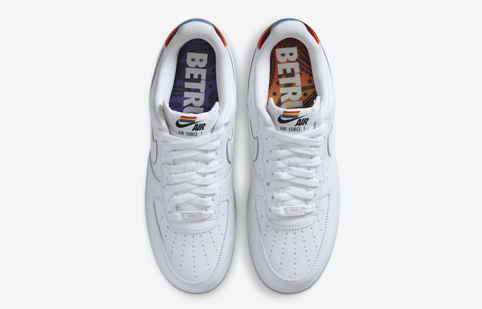 Nike Air Force 1 BeTrue 2020 White Multi CV0258-100 06
