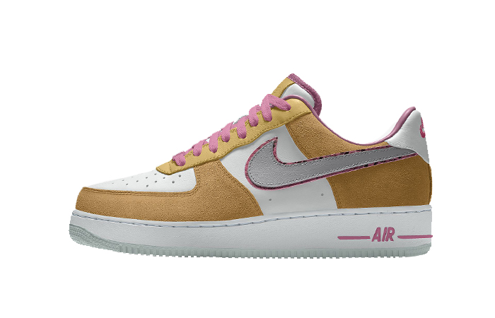 Nike Air Force 1 Low Unlocked By You Beige Pink CT3761-991 01