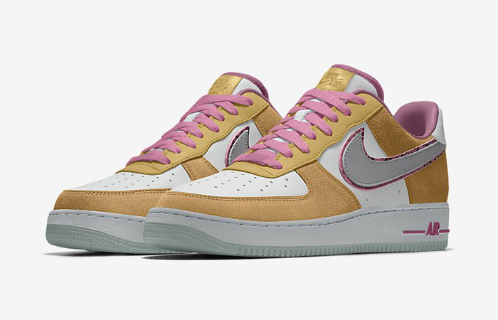 Nike Air Force 1 Low Unlocked By You Beige Pink CT3761-991 02