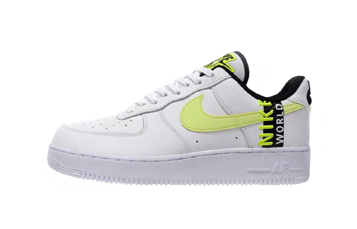 Nike Air Force 1 Low Worldwide White Volt CK6924-101 01