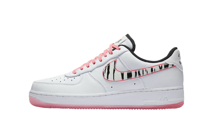 Nike Air Force 1 South Korea White Pink CW3919-100 01
