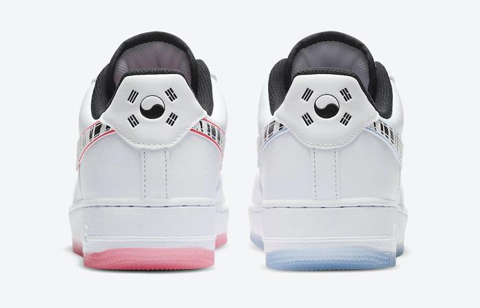 Nike Air Force 1 South Korea White Pink CW3919-100 08