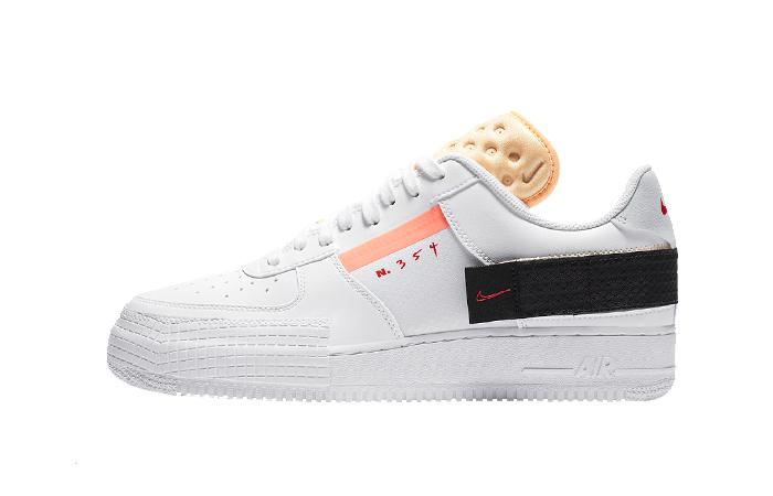 Nike Air Force 1 Type Melon Tint White CZ7107-100 01
