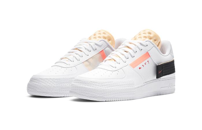 Nike Air Force 1 Type Melon Tint White CZ7107-100 02