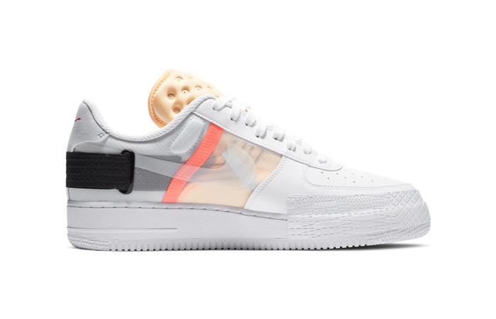 Nike Air Force 1 Type Melon Tint White CZ7107-100 03