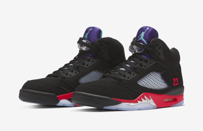 Nike Air Jordan 5 SE Black 02