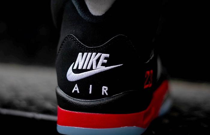Nike Air Jordan 5 SE Black CZ1786-001 on foot 03