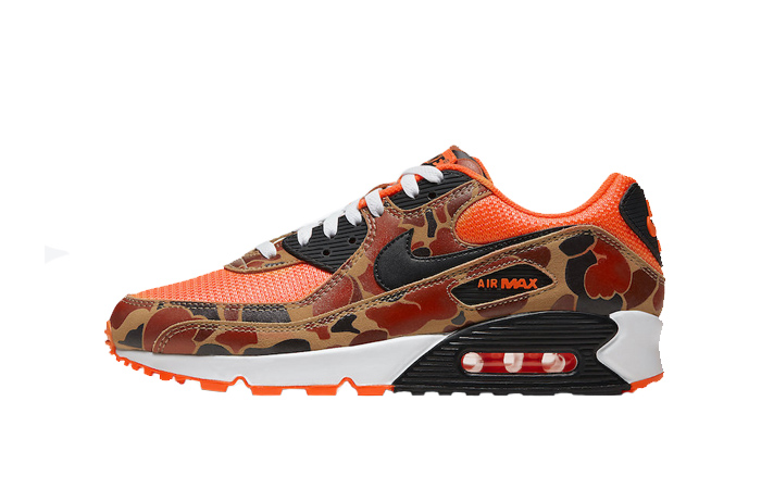 Nike Air Max 90 Duck Camo Total Orange CW4039 800 – Fastsole
