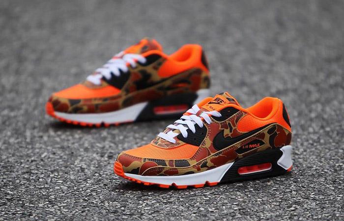 Nike Air Max 90 Duck Camo Total Orange CW4039 800