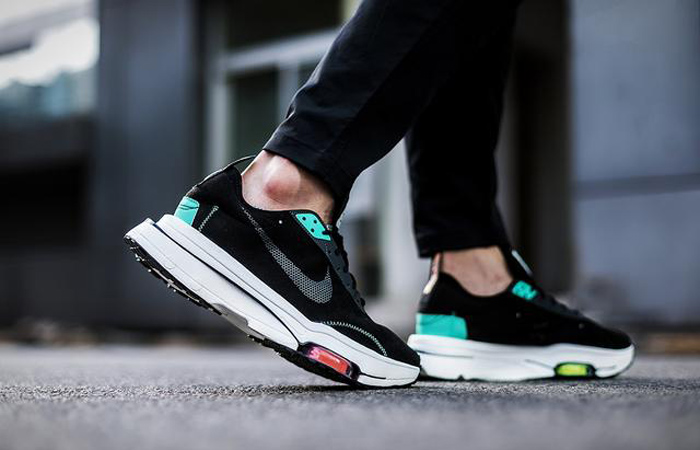 Nike Air Zoom Type Black Menta CJ2033-010 on foot 01