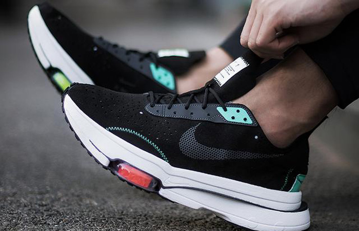 Nike Air Zoom Type Black Menta CJ2033-010 on foot 02