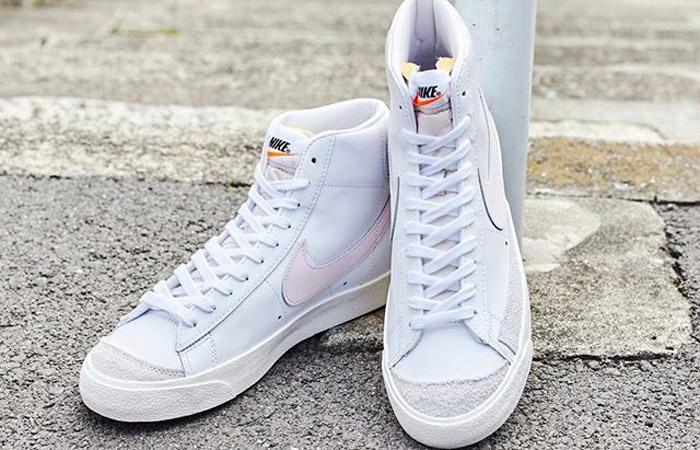 Nike Blazer Mid 77 White Pink Swoosh BQ6806-108 03
