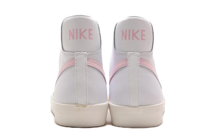 Nike Blazer Mid 77 White Pink Swoosh BQ6806-108 07