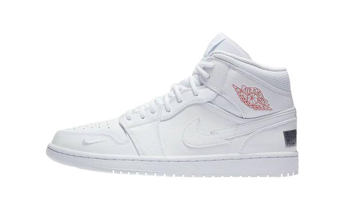 Nike Jordan 1 Mid Euro Tour White CW7589-100 01