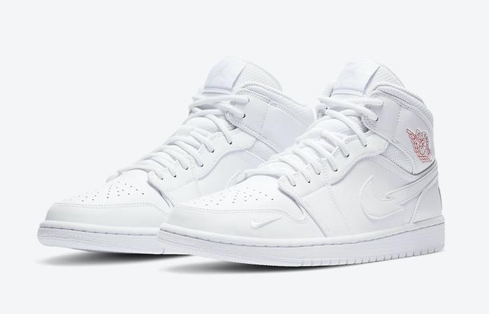 Nike Jordan 1 Mid Euro Tour White CW7589-100 02