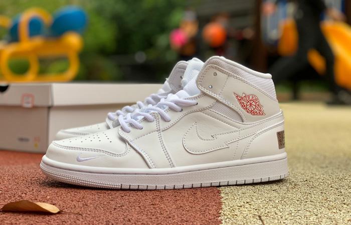 Nike Jordan 1 Mid Euro Tour White CW7589-100 06