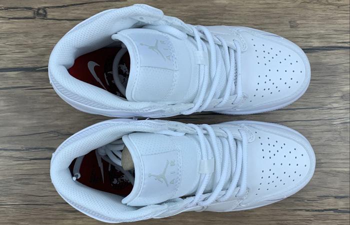Nike Jordan 1 Mid Euro Tour White CW7589-100 07
