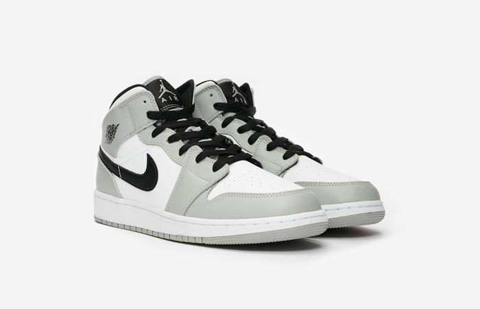 Nike Jordan 1 Mid GS Smoke Grey 554725