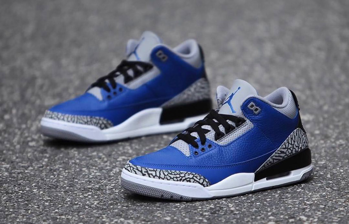 Nike Jordan 3 Retro Varsity Royal CT8532-400 07