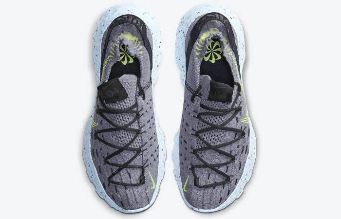 Nike Space Hippie 04 Volt Grey CD3476-001 05